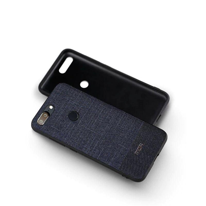 Mofi Business Style Fabrics Case For One Plus 5t (4)