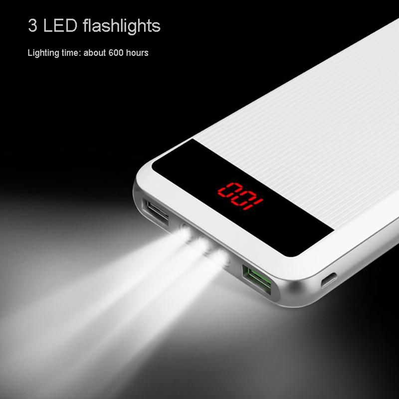 Mopoer 20000mah Dash Charging Dual Port Triple Led Light Powerbank (4)