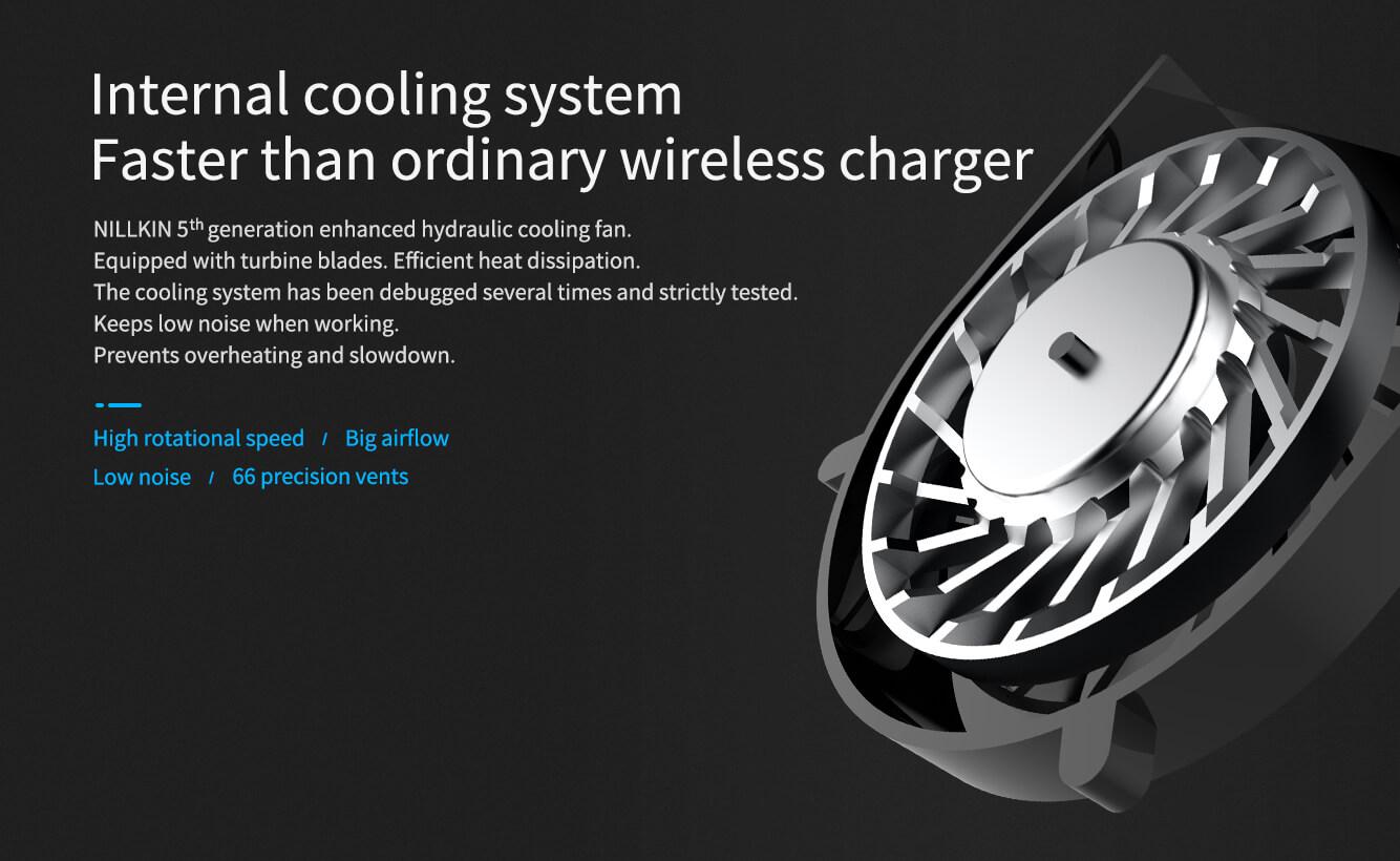 Nillkin Powerflash 15w Wireless Charger Aramid Fiber (7)