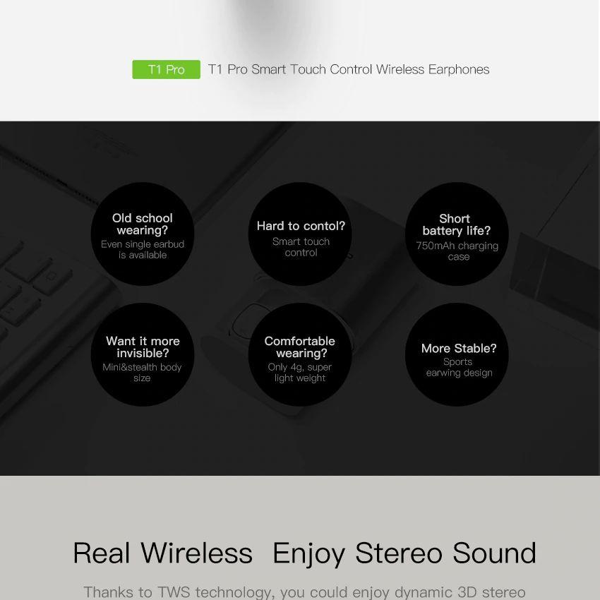 Qcy T1 Pro Tws Bluetooth Earphones (12)