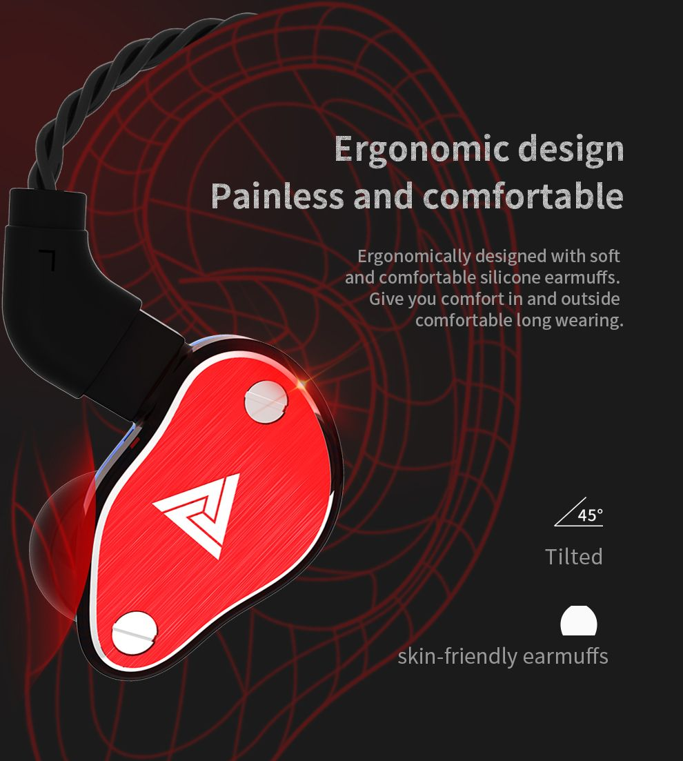 Qkz Vk6 4 Dynamic Hybrid In Ear Earphone (10)