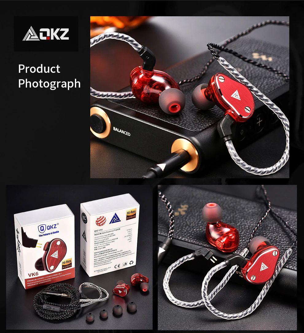Qkz Vk6 4 Dynamic Hybrid In Ear Earphone (2)