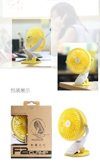 Remax F2 Rechargeable Portable Usb Mini Fan 360 Degrees Rotating (15)