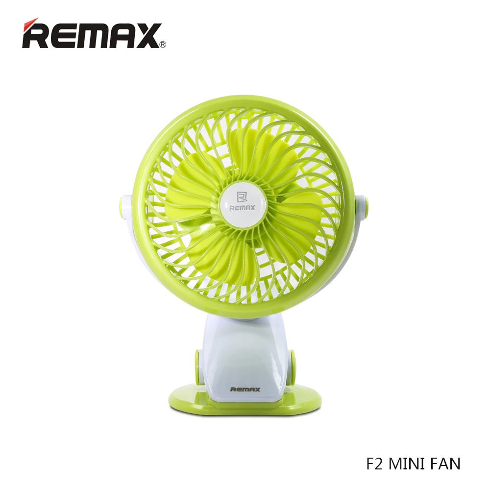 Remax F2 Rechargeable Portable Usb Mini Fan 360 Degrees Rotating (1) 1