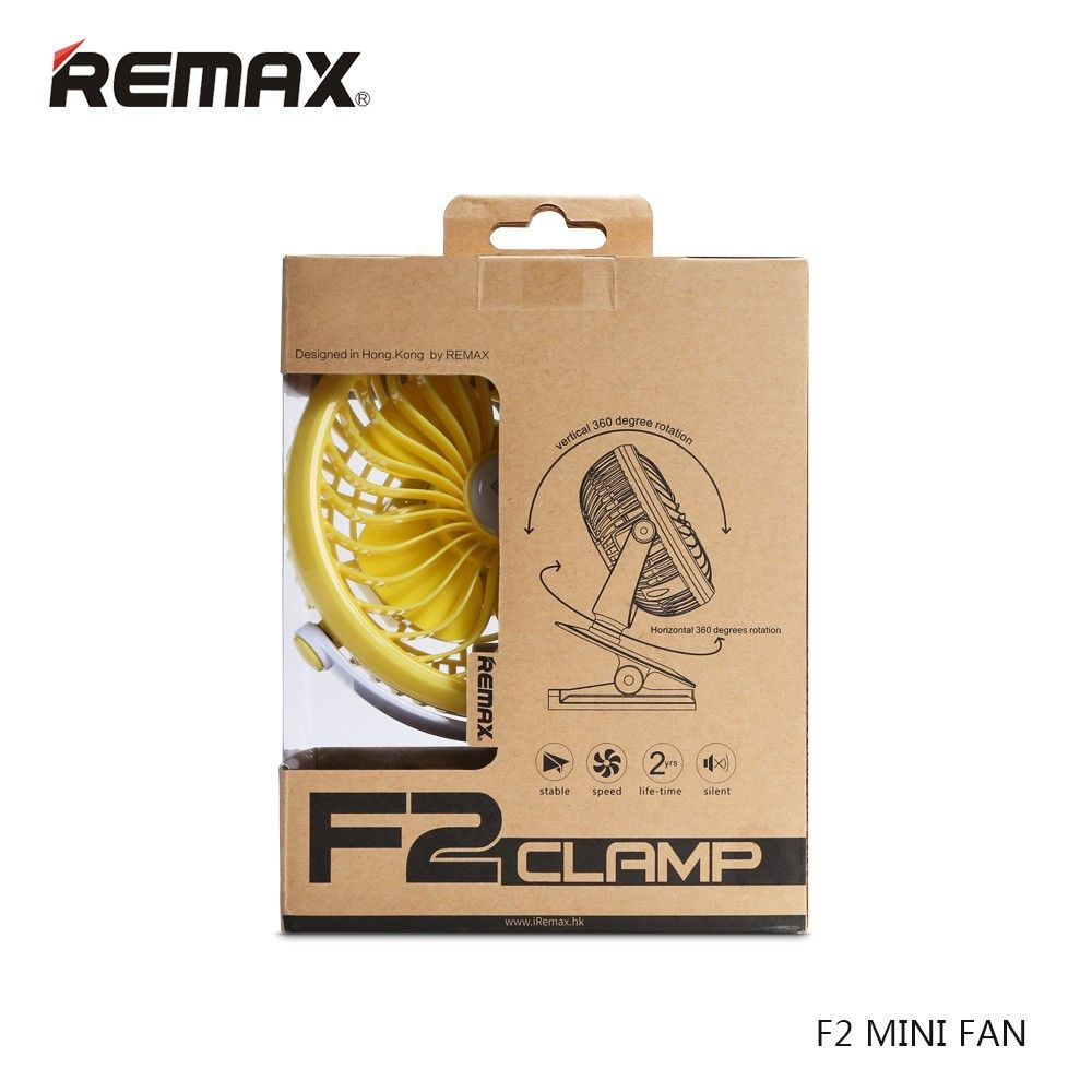 Remax F2 Rechargeable Portable Usb Mini Fan 360 Degrees Rotating (4)