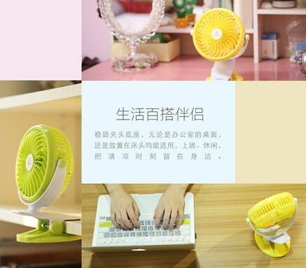 Remax F2 Rechargeable Portable Usb Mini Fan 360 Degrees Rotating (6)