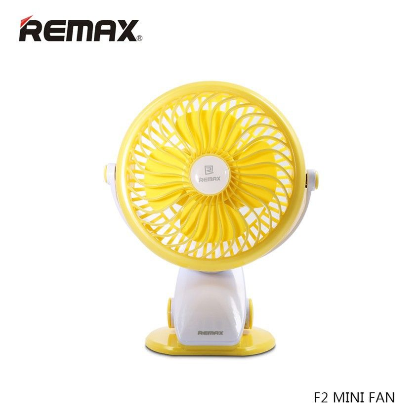 Remax F2 Rechargeable Portable Usb Mini Fan 360 Degrees Rotating (8)