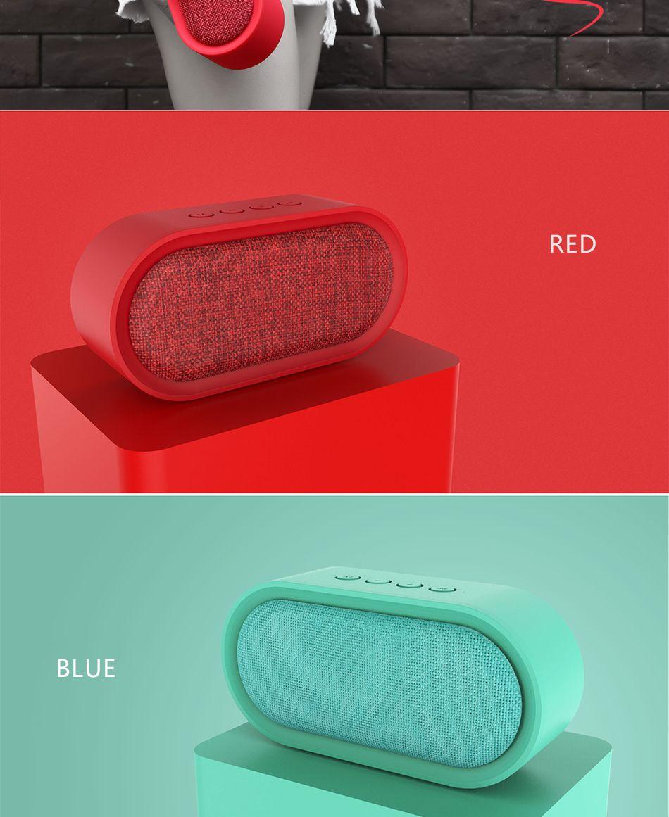 Remax M11 Portable Wireless Fabric Bluetooth Speaker (1)