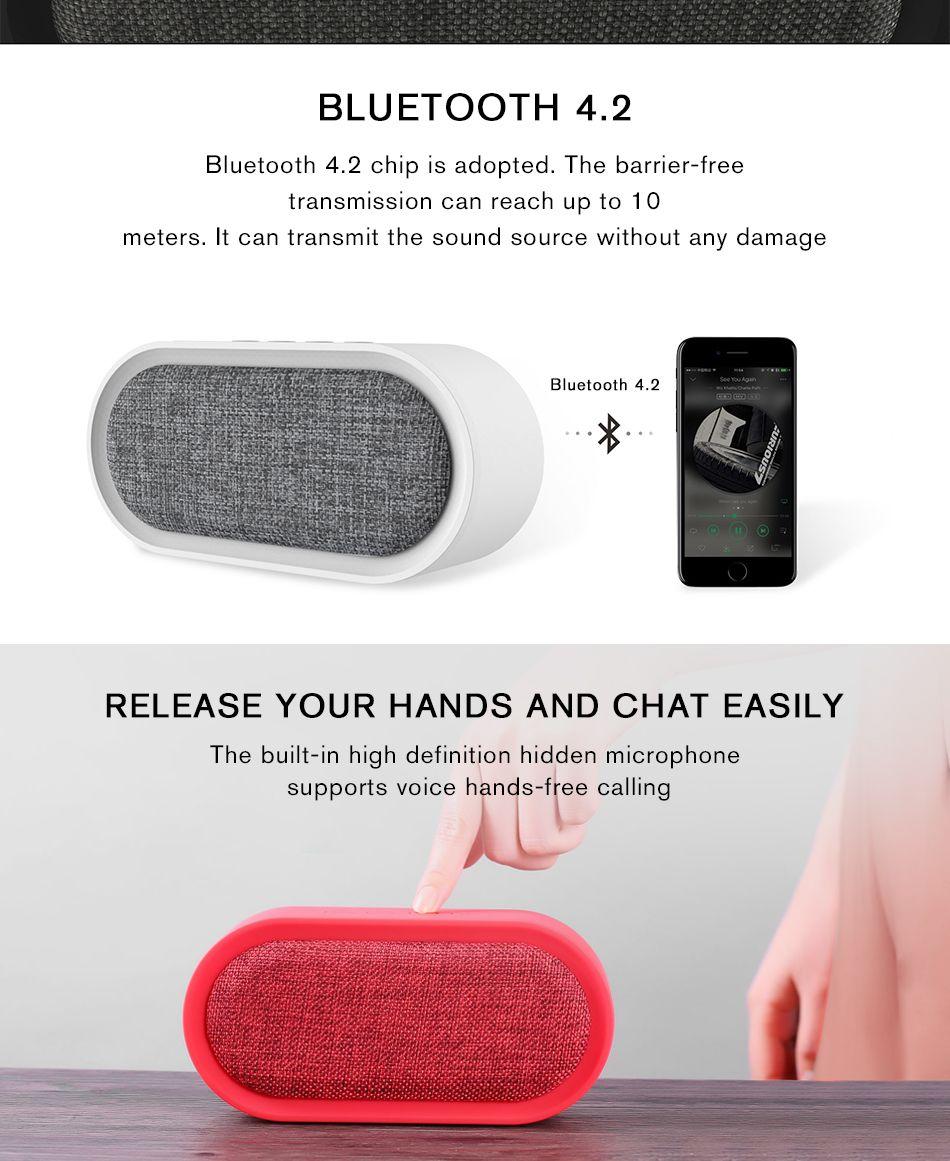 Remax M11 Portable Wireless Fabric Bluetooth Speaker (4)