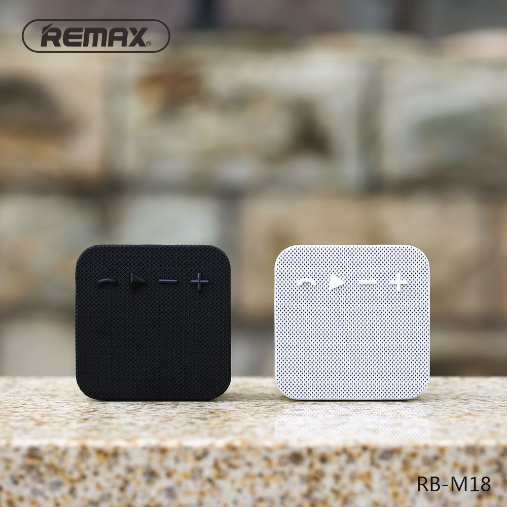 Remax Rb M18 Fabric Portable Bluetooth Speaker (1)
