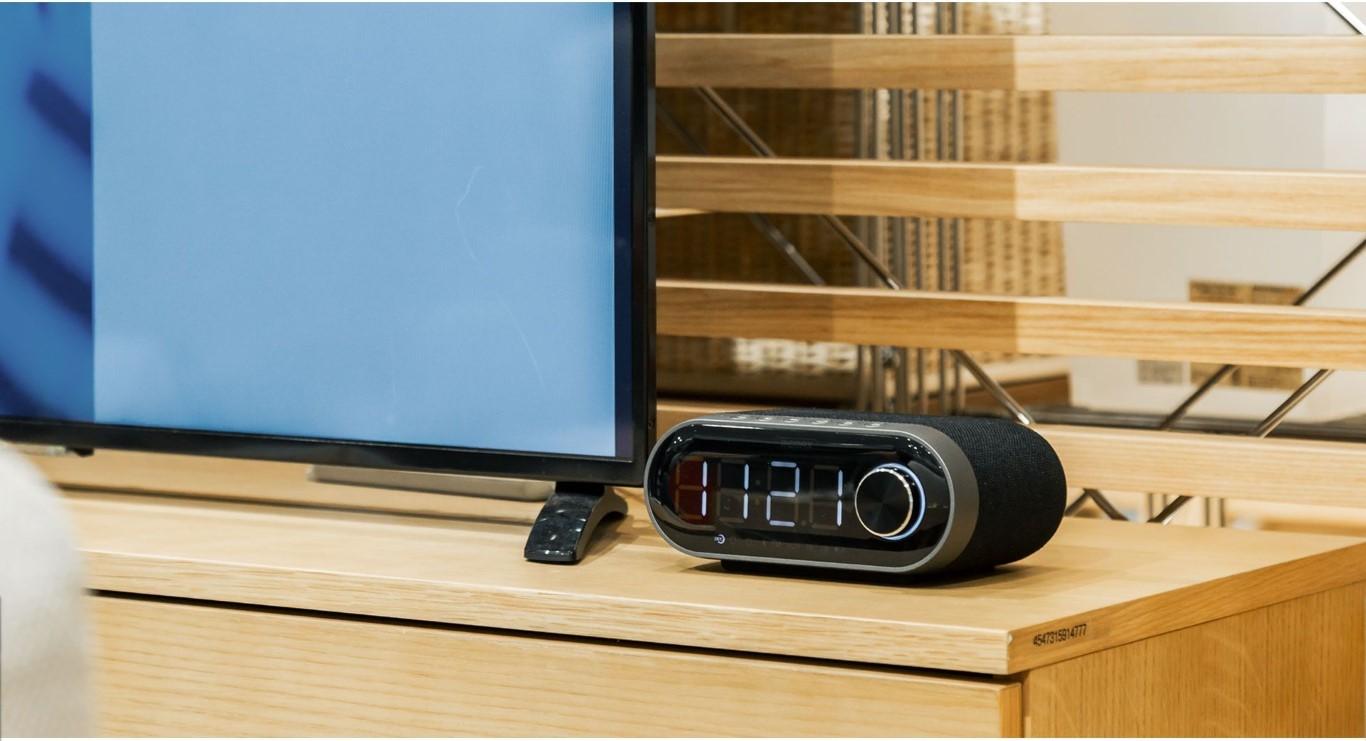 Remax Rb M26 Bluetooth Speaker With Alarm Clock (1)
