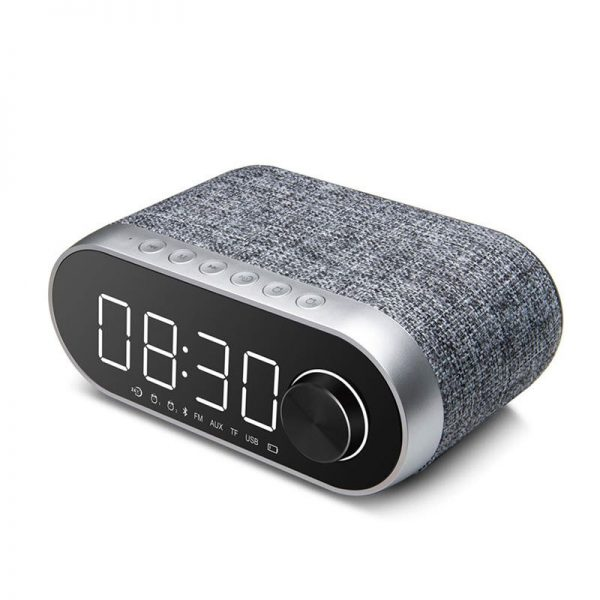 Remax Rb M26 Bluetooth Speaker With Alarm Clock (1)