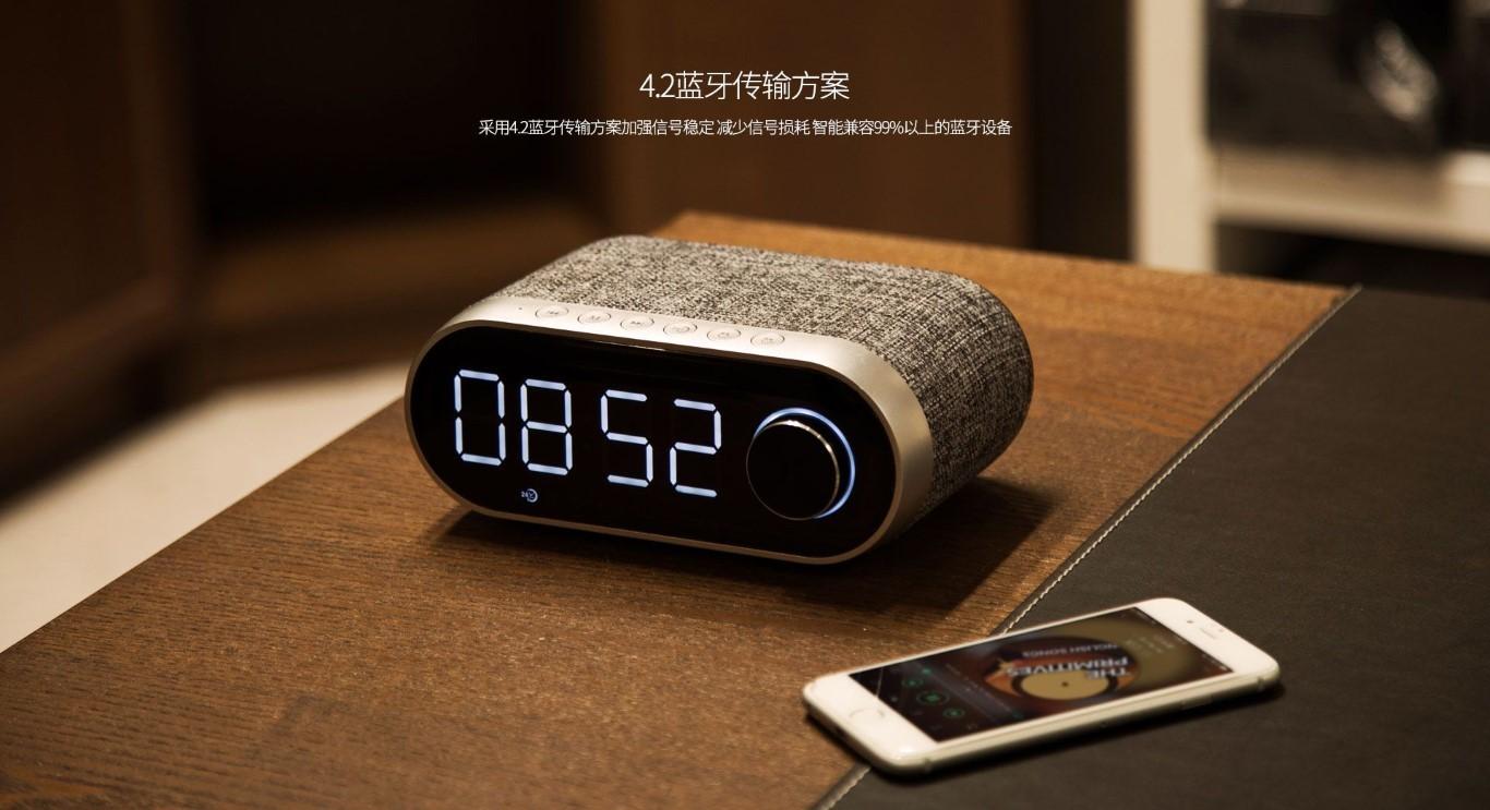 Remax Rb M26 Bluetooth Speaker With Alarm Clock (13)