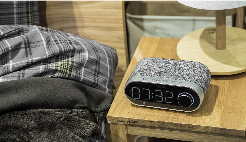 Remax Rb M26 Bluetooth Speaker With Alarm Clock (2)