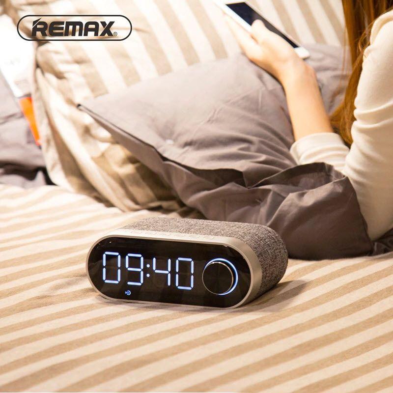 Remax Rb M26 Bluetooth Speaker With Alarm Clock (8)