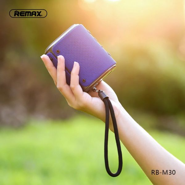 Remax Rb M30 Fabric Series Wireless Bluetooth Speaker (1)