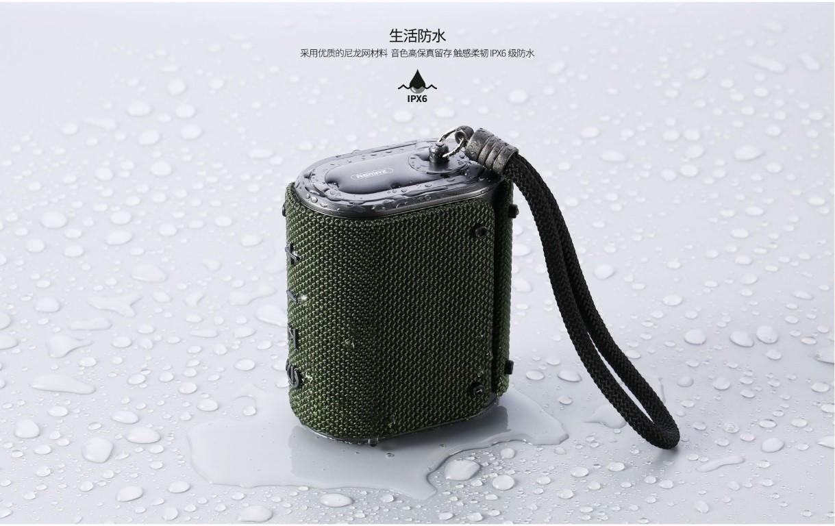 Remax Rb M30 Fabric Series Wireless Bluetooth Speaker (2)