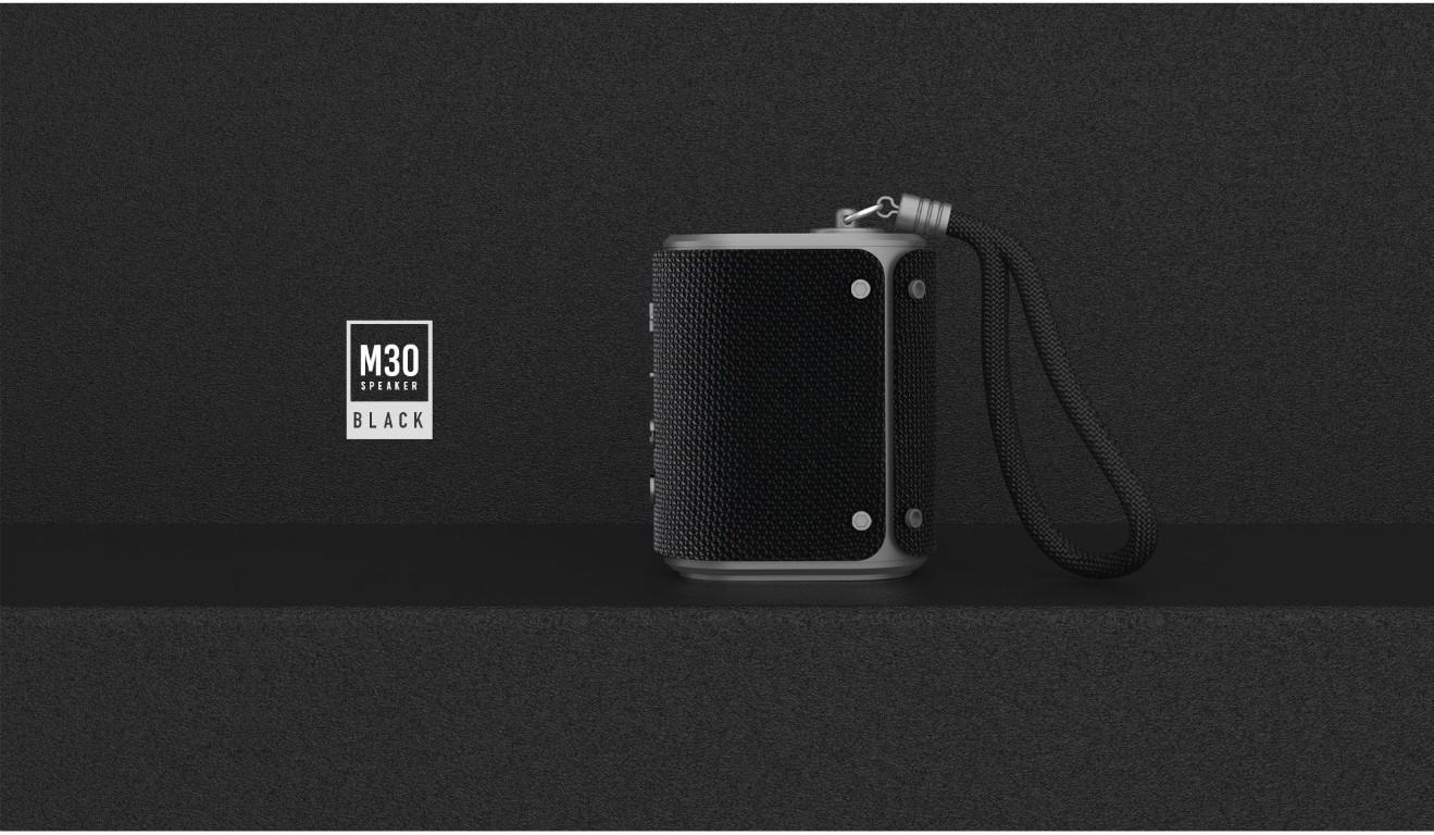 Remax Rb M30 Fabric Series Wireless Bluetooth Speaker (3)
