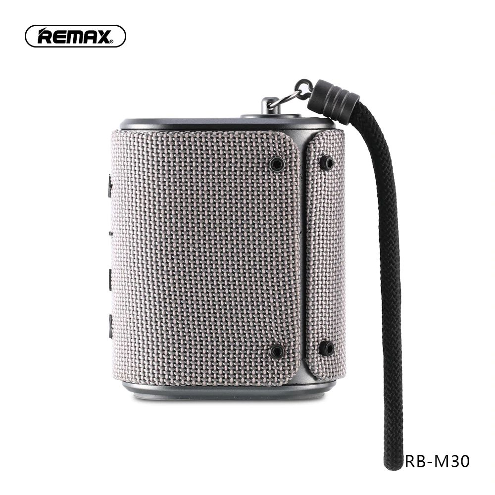 Remax Rb M30 Fabric Series Wireless Bluetooth Speaker (4)
