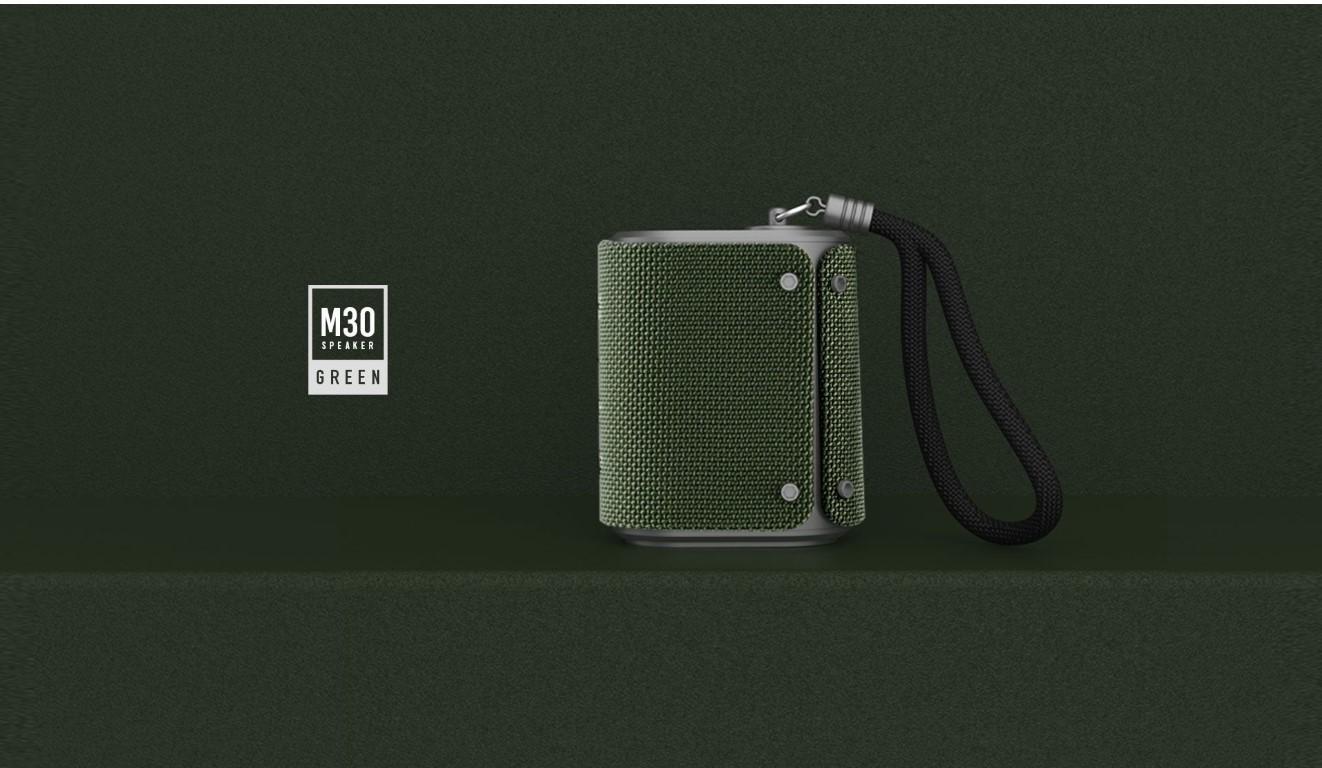 Remax Rb M30 Fabric Series Wireless Bluetooth Speaker (5)