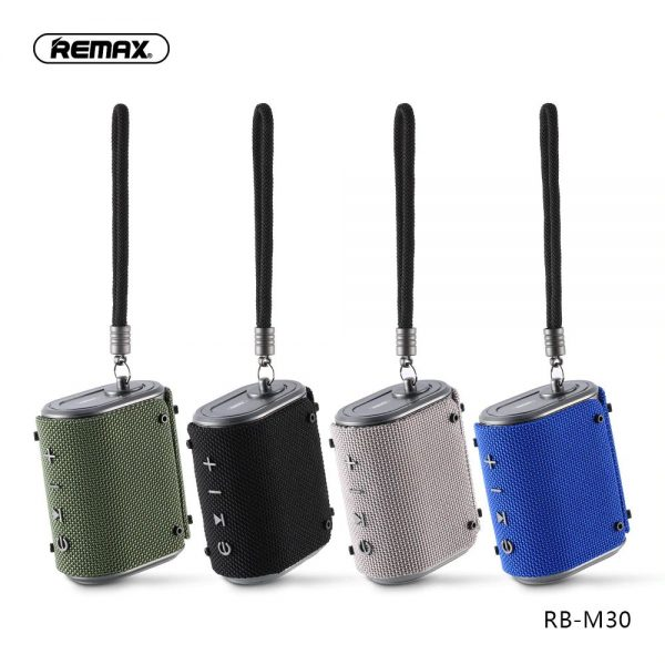 Remax Rb M30 Fabric Series Wireless Bluetooth Speaker (5)