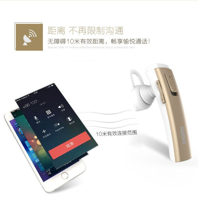Remax Rb T6c Bluetooth Earphone With Charging Dock (14)