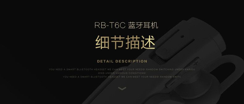 Remax Rb T6c Bluetooth Earphone With Charging Dock (3)