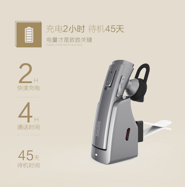 Remax Rb T6c Bluetooth Earphone With Charging Dock (9)