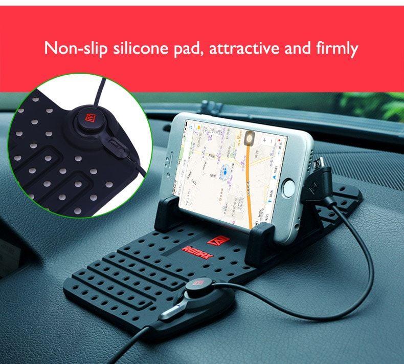 Remax Rc Fc1 Charging Stand Super Flexible Car Holder Navigation (1)