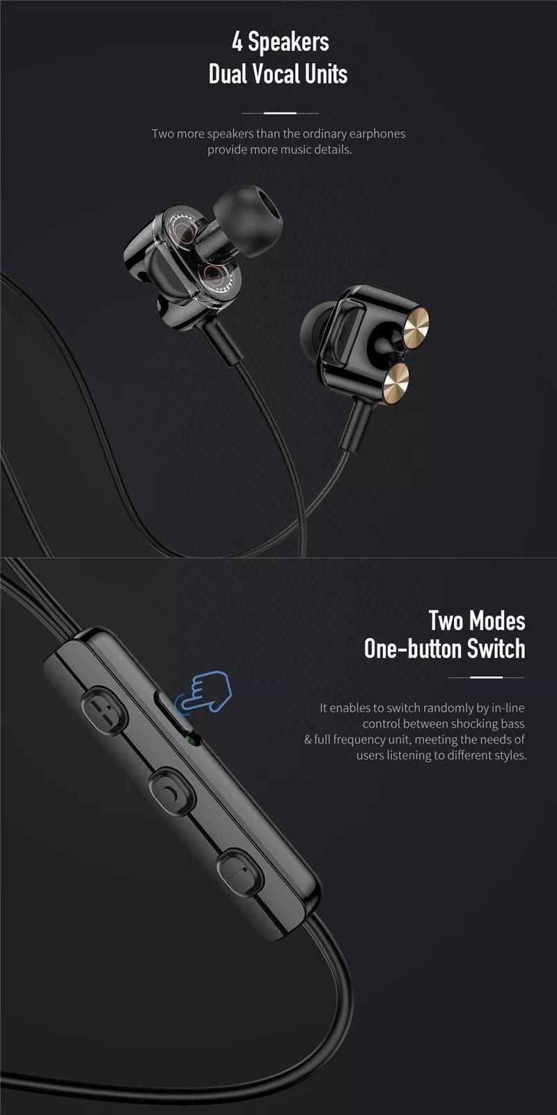 Rock Mutin Dual Unit Stereo Earphone (5)