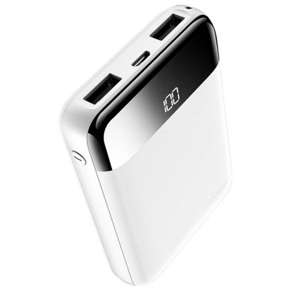 Rock Space P66 Mini Digital Display Power Bank 10000mah (4)
