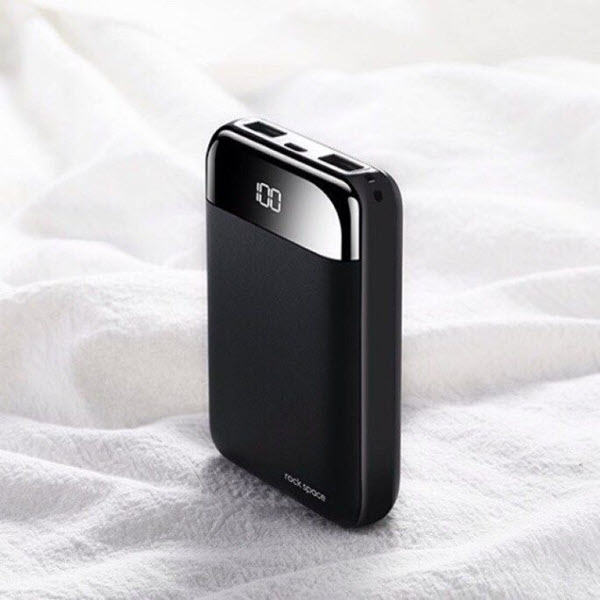 Rock Space P66 Mini Digital Display Power Bank 10000mah (7)