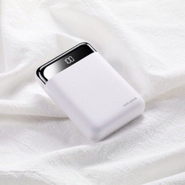 Rock Space P66 Mini Digital Display Power Bank 10000mah (8)
