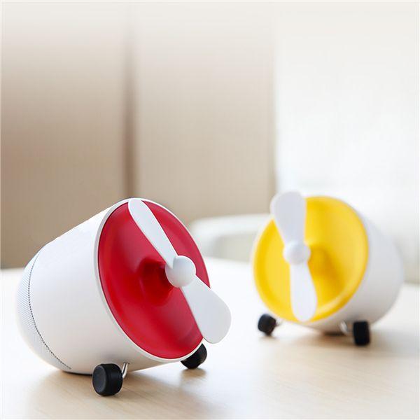 Rockspace Mini Bluetooth Speaker With Fan (1)