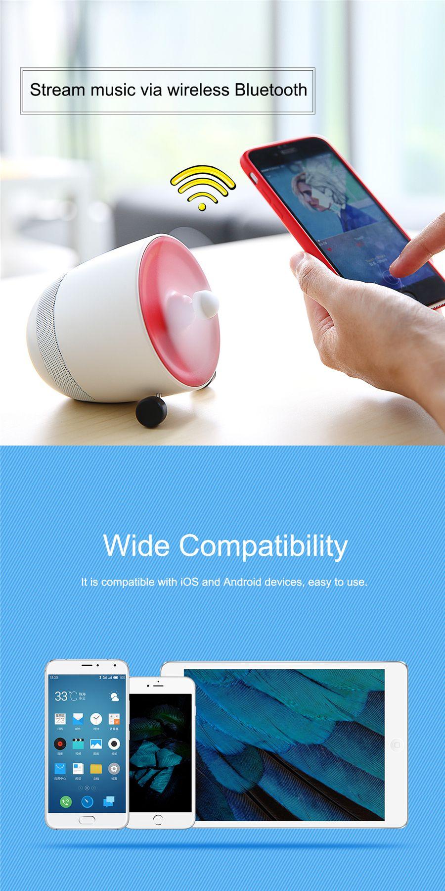 Rockspace Mini Bluetooth Speaker With Fan (5)