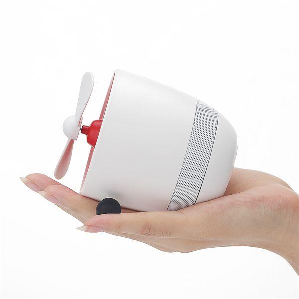 Rockspace Mini Bluetooth Speaker With Fan (6)