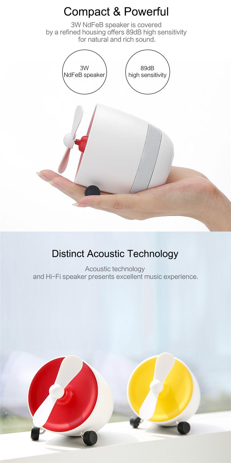 Rockspace Mini Bluetooth Speaker With Fan (7)