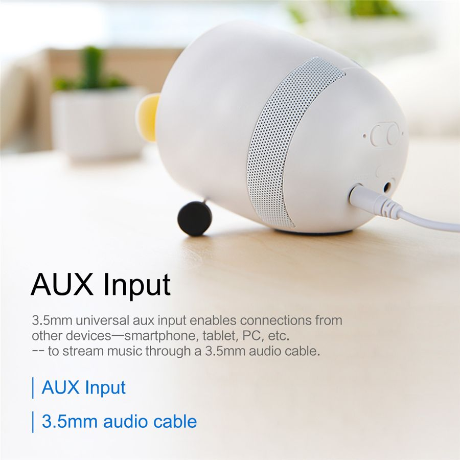 Rockspace Mini Bluetooth Speaker With Fan (8)