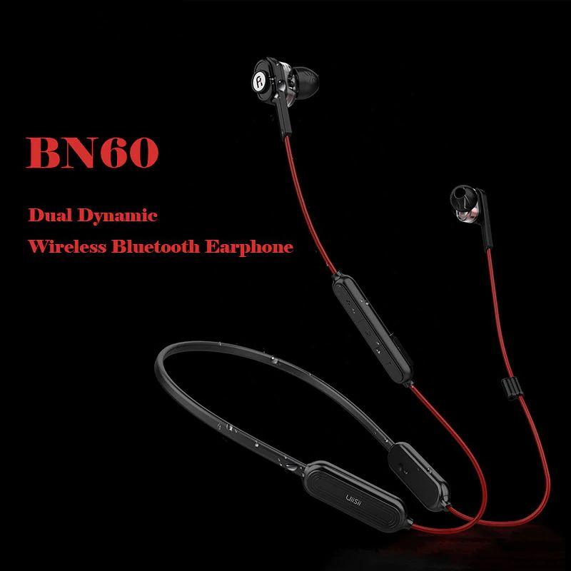 Uiisii Bn60 Wireless Bluetooth Headset Dual Dynamic In Ear Earphone 250mah Battery Ipx5 Waterproof Csr Bt4 1 Earbuds For Phone (3)