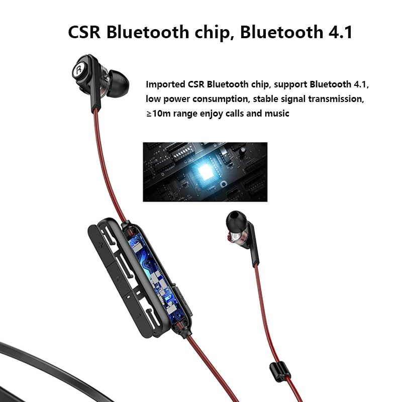 Uiisii Bn60 Wireless Bluetooth Headset Dual Dynamic In Ear Earphone 250mah Battery Ipx5 Waterproof Csr Bt4 1 Earbuds For Phone (5)