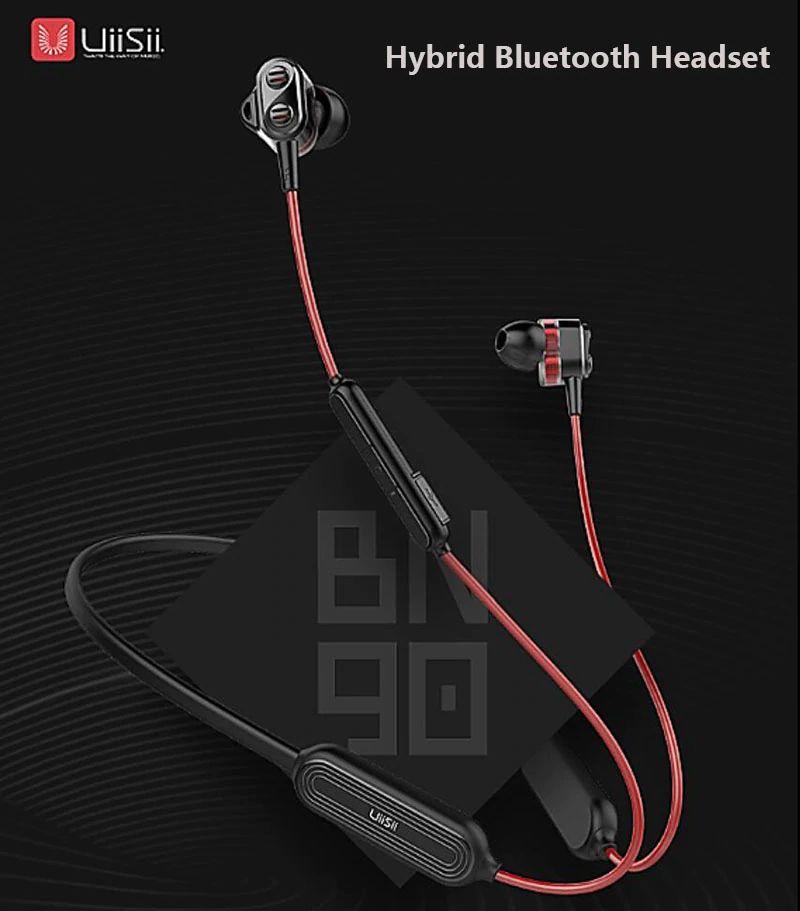Uiisii Bn90 Wireless Bluetooth Waterproof Neckband (12)