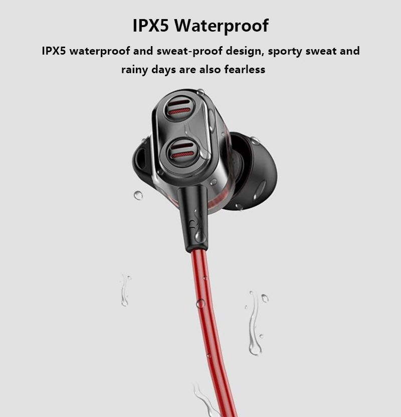 Uiisii Bn90 Wireless Bluetooth Waterproof Neckband (4)