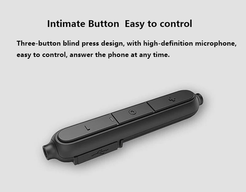 Uiisii Bn90 Wireless Bluetooth Waterproof Neckband (5)