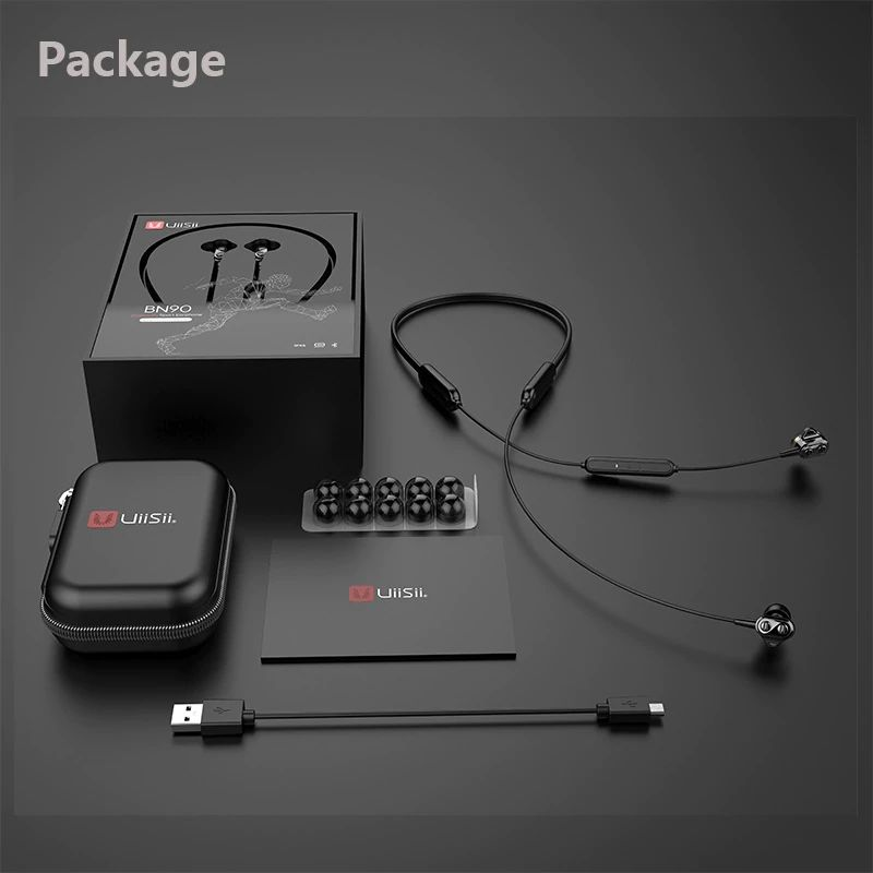 Uiisii Bn90 Wireless Bluetooth Waterproof Neckband (9)