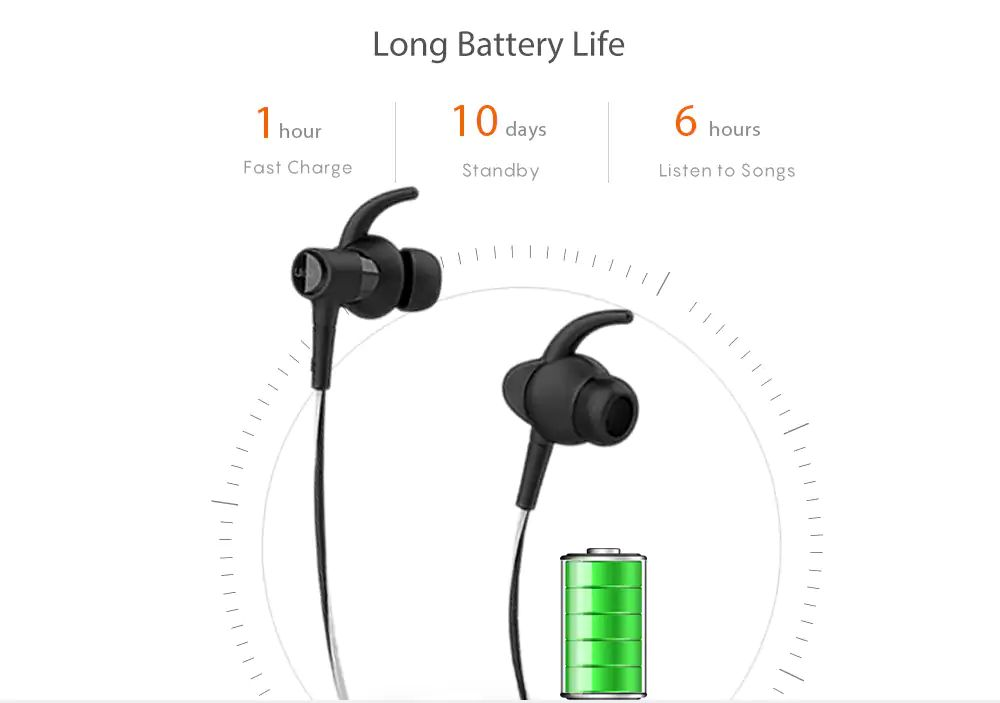 Uiisii Bt 710 Ipx4 Waterproof Wireless Sport Earphones (4)