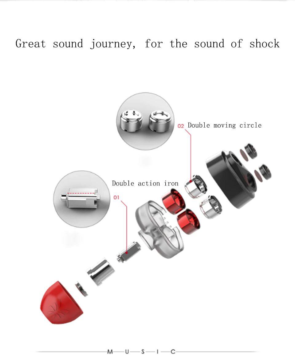 Uiisii Dt800 Four Drivers Surround Sound Hi Res Earphones (13)