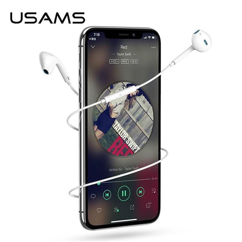 Usams Ep 22 In Ear Stereo Earphone (4)