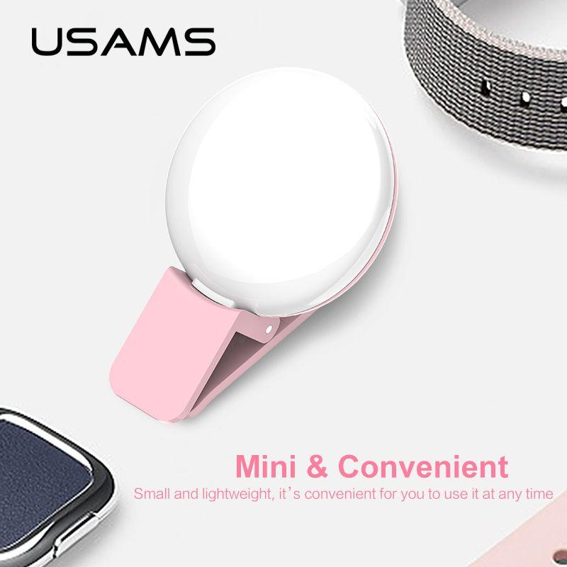 Usams Led Selfie Colorful Full Light (3)
