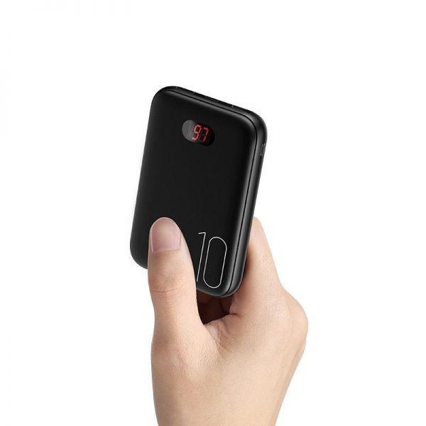 Usams Pb9 10000mah Dual Usb Mini Digital Power Bank (2)