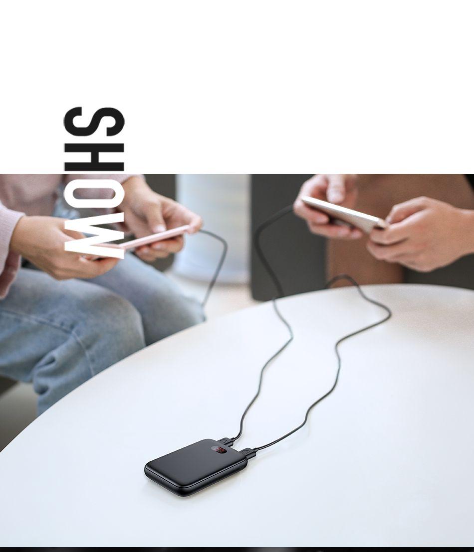 Usams Pb9 10000mah Dual Usb Mini Digital Power Bank (4)